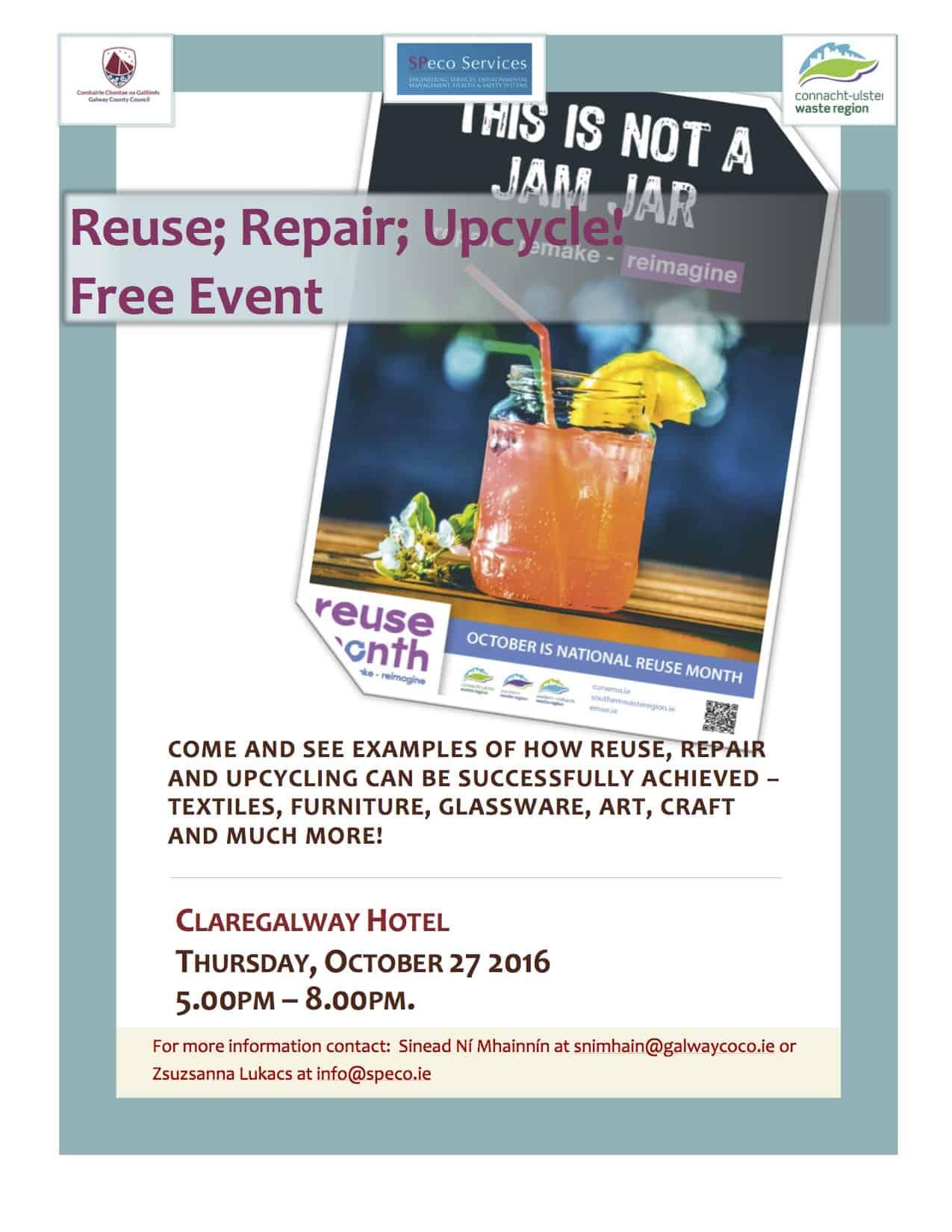 Reuse Repair Upcycle