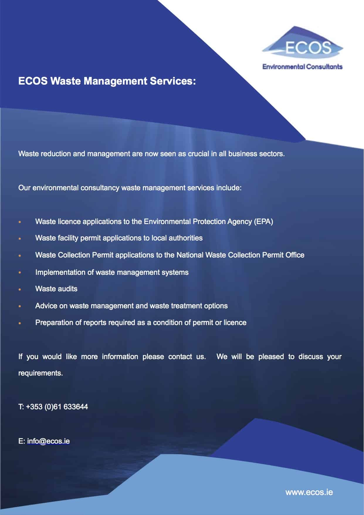 ECOS Waste Management Services